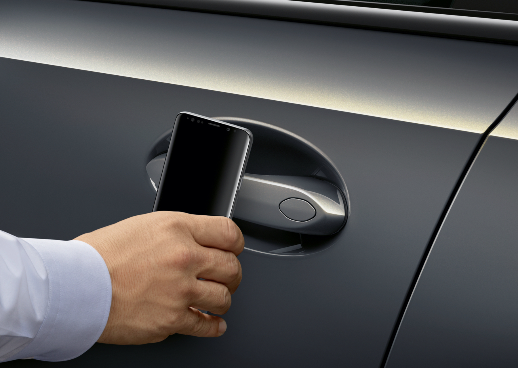 Mobile phone instead of a car key